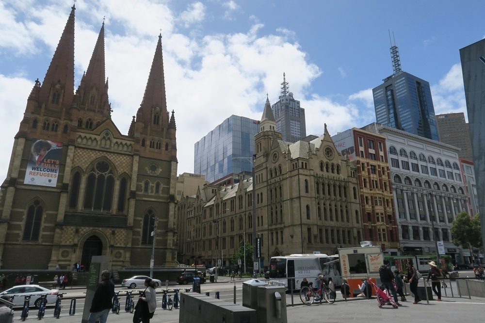 Melbourne, artiste et cosmopolite