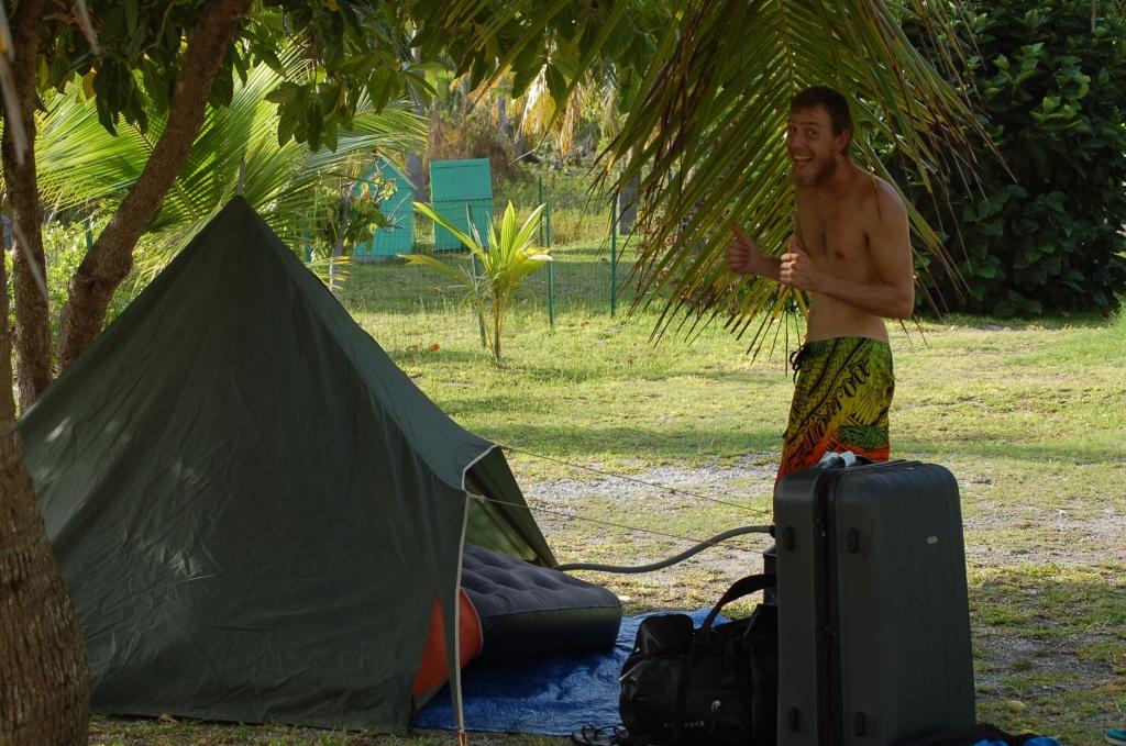 Fakarava camping,