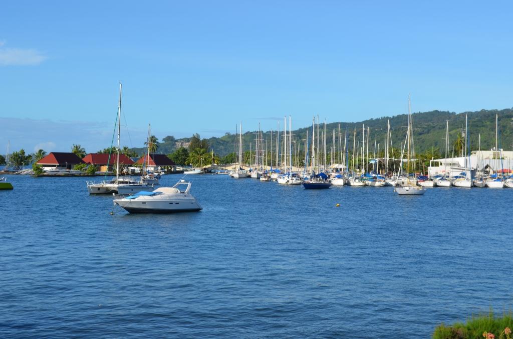 Arrivée à Tahiti, première journée
