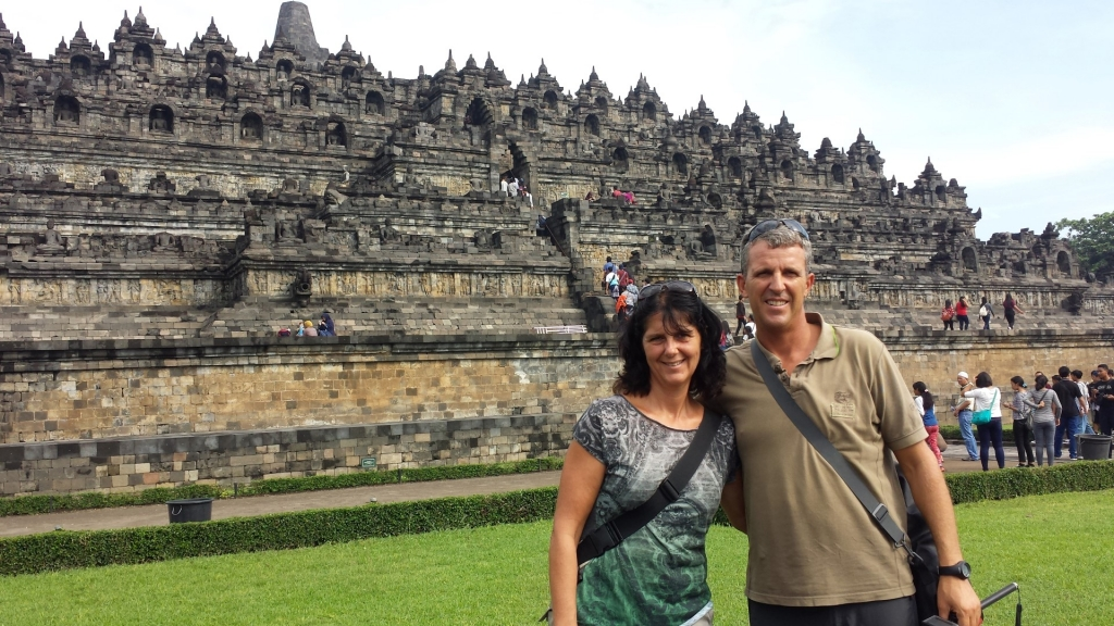 YOGYAKARTA - TEMPLES DE BOROBUDUR ET PRAMBANAN