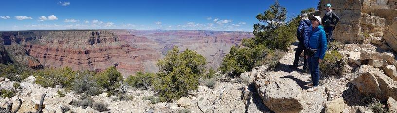 Du Grand Canyon au Grand Tipi