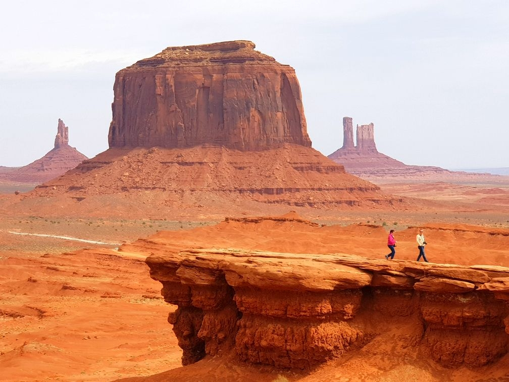 Monument Valley, Goosenecks et Four Corner