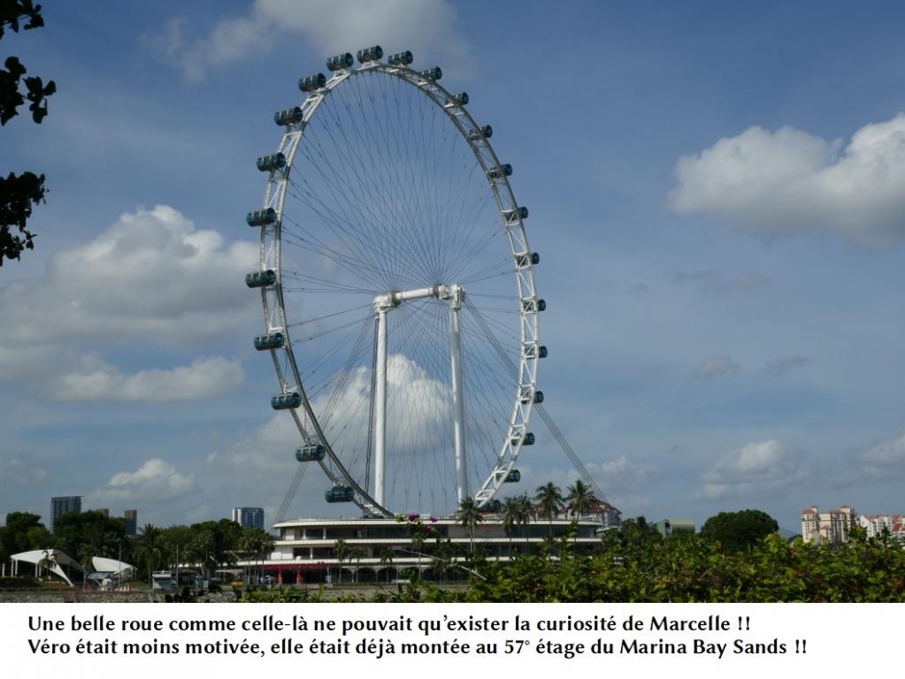SINGAPOUR: la roue
