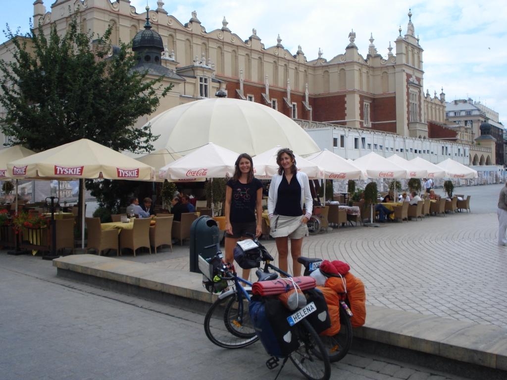 Deux jours à pied dans Cracovie