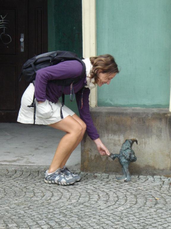 Dernière étape : Wroclaw 4e ville de Pologne