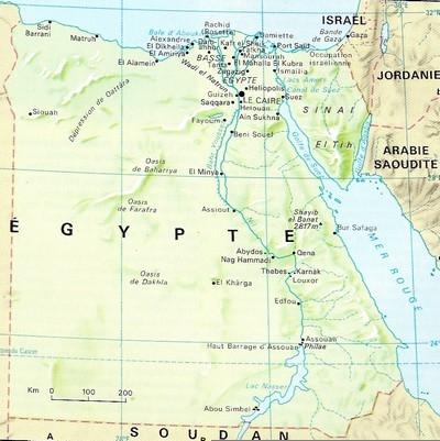 Dernières heures en Jordanie.... direction Egypte