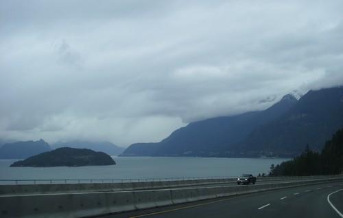 Neige et feu de chéminée à Whistler + bilan du Canada.