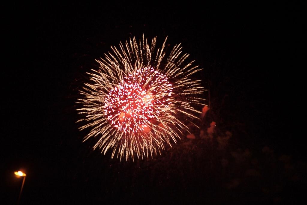 feu d artifice et grosse soir 233 e de voyage de farfadet