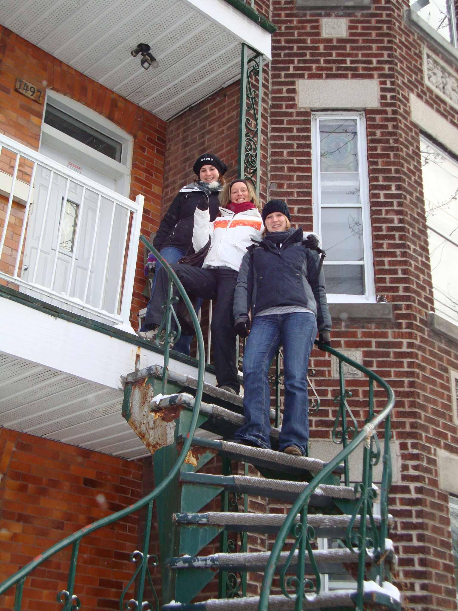 Notre première sortie à Montréal