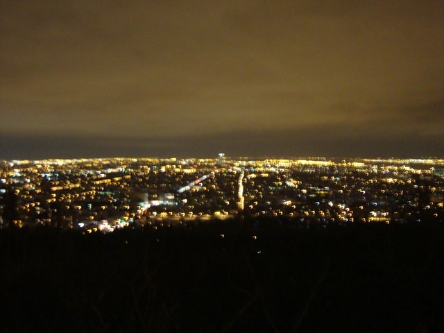 Vue du Mont royal...[ By Night]