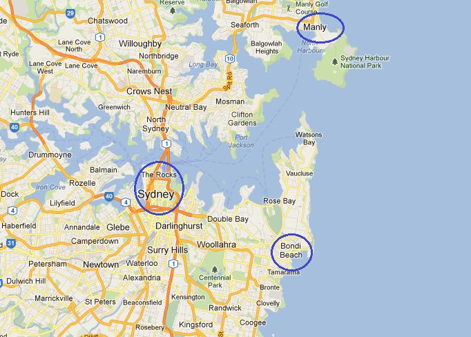 Plan De La Ville De Perth