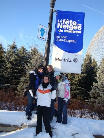 Fête de la neige à Montréal
