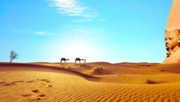 Partir en Egypte en avril