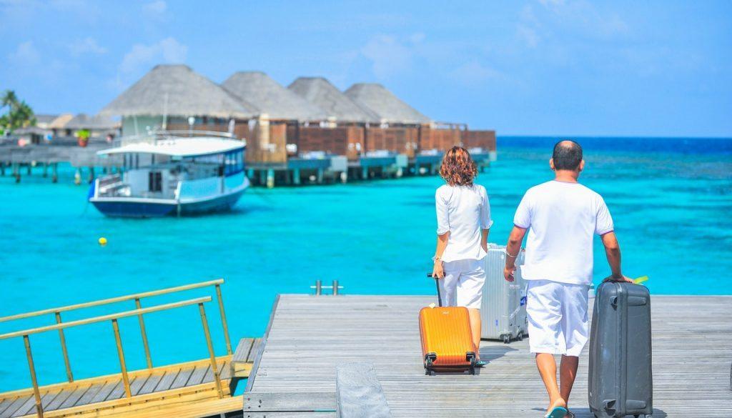 Partir aux Maldives en février