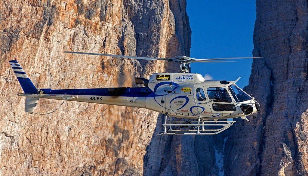 Quels sont les avantages d'un voyage en hélicoptère